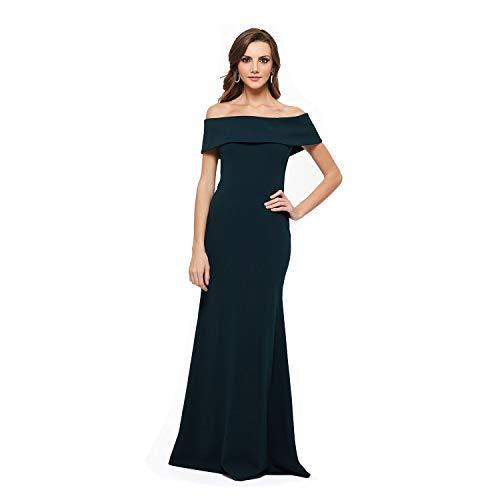 Strapless Off The Shoulder Dress – Ruffle Tail Evening Dress, Gold Zipper Maxi