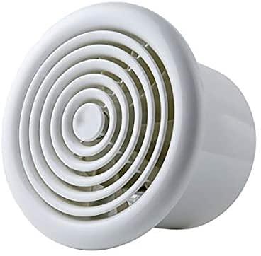 JXH Ventilador De Escape Montado En La Pared O En El Techo De 4'100 Mm Extractor De Bajo Ruido Volumen De Aire 100M3 / H para Pared Baño Cocina