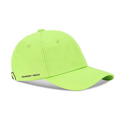 Verano suave top marca tapas versión coreana de las letras laterales salvajes hombres y hip-hop hip-hop gorra de béisbol