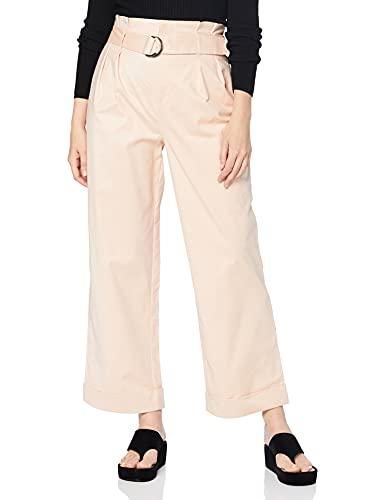 Intropia P792PAN06097509 Pantalones, Mujer, Rosa (Rosa 509), 38 (Tamaño del Fabricante:38)
