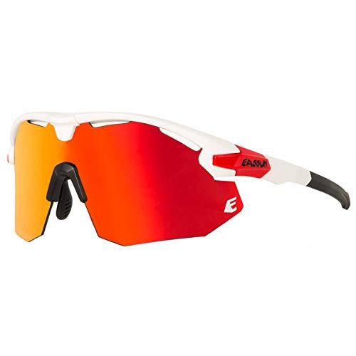 EASSUN Gafas de Ciclismo Giant, Solares Cat 2, Antideslizantes y Ajustables con...