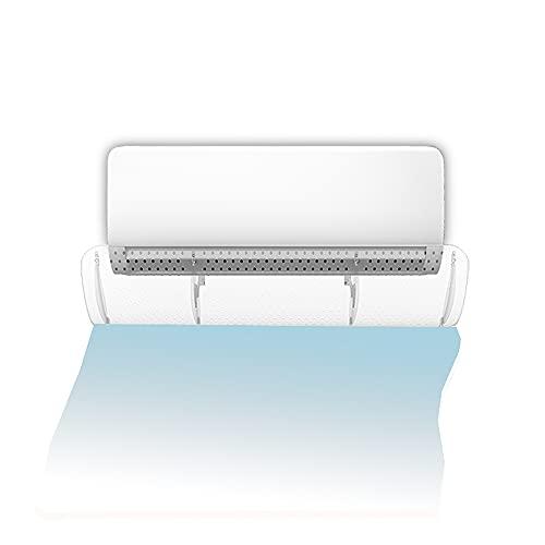 Deflettore aria condizionata a parete, Deflettore aria condizionata Deflettore aria regolabile, protezione dal vento freddo (del tipo a foro trasparente, con pellicola protettiva)