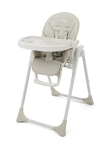 BABYLO Nosh from Birth High Chair, Adjustable + Folding with 7 Height, 3 Seat...