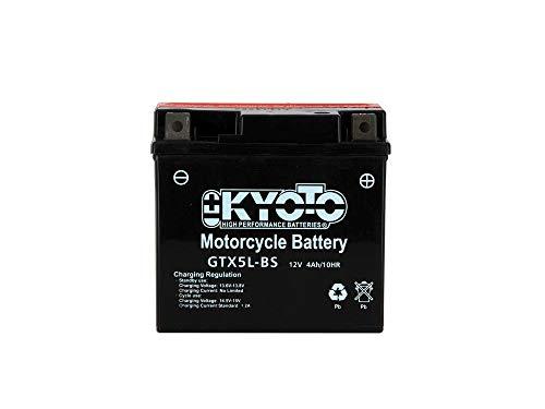 YTX5L-BS Batteria Moto Completa di Acido Pronta allUso UNIBAT READY CBTX5L-FA