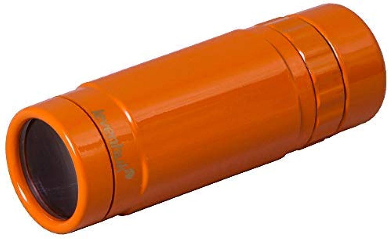 論理的にシーフードワインLevenhuk Rainbow 8x25 Handheld Sunny Orange Monocular with Close Focus of 3m, Glass Optics and Pocket-Size Body for Indoor and Outdoor Use [並行輸入品]