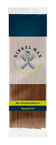 Dinkel Max Vollkorn Spaghetti Bio, 4er Pack (4 x 500 g)
