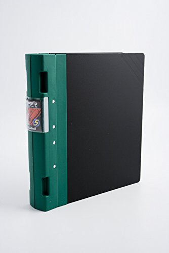 Guildhall GLX Ergogrip Binder Capacity 400 Sheets 4x 2 Prong 55mm A4 Green Ref 4536Z [Pack 2]