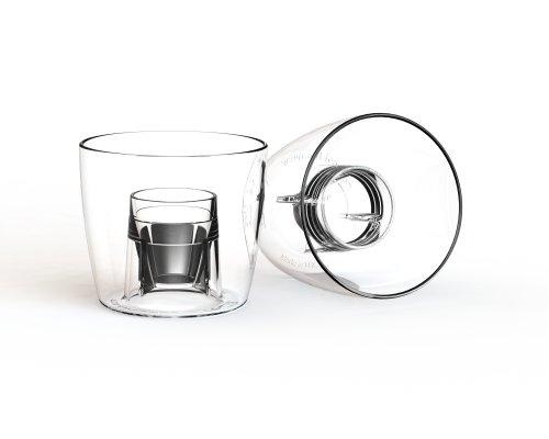 Classic Bomber Cups x 100 - Praktisch unzerbrechlich CE gestempelt Bombe Schnapsgläser, jager bomb Gläser, bomb shot cups