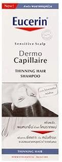 Eucerin Dermo Capillaire Thinning Hair Shampoo for Sensitive Scalp for Women, 250ml