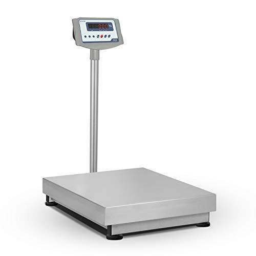 Accurex Báscula Industrial de Plataforma RX-150S (150 kg / 20 g, Plataforma de Pesaje 30 x 40 cm)