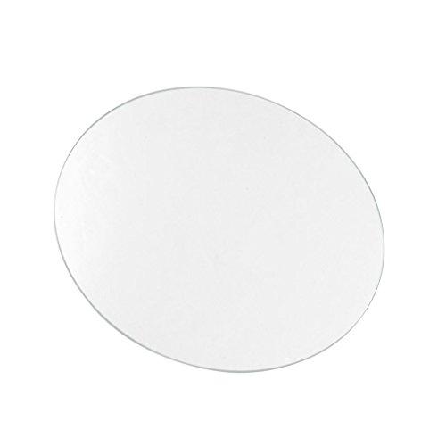 Vetro Di Borosilicato (Pyrex) Rotondo/Circolare 190Mm Per Piatto Di Riscaldamento Della Stampante 3D. Vetri Glass Borosilicate 19Cm Diametro