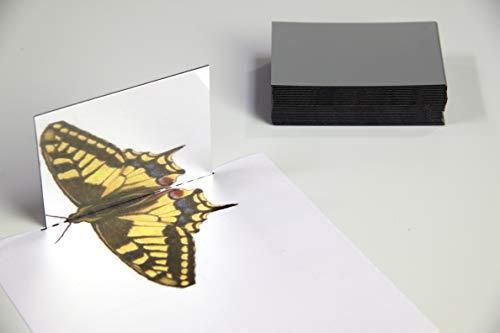 WISSNER aktiv lernen - 25 Kunststoff Spiegel 87 x 62 x 1.5 mm