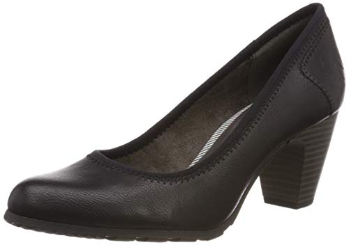 s.Oliver Damen 5-5-22404-22 001 Pumps, Black, 38 EU