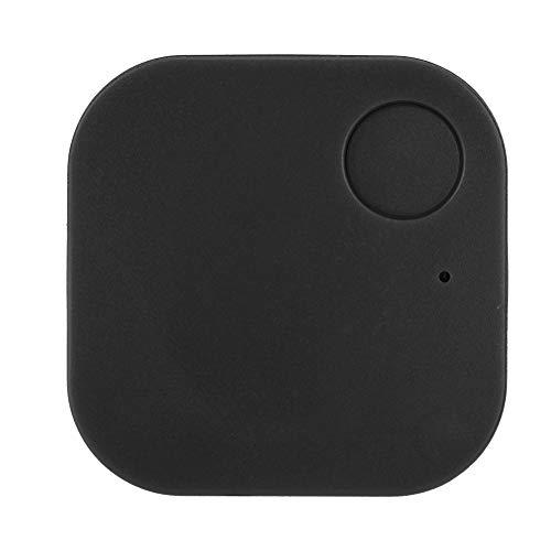 Buscador de Llaves, Bluetooth 4.0 Localizador antipérdida Bluetooth 4.0 Dispositivo de rastreo GPS Rastreador GPS Bluetooth, para Llaves Teléfono Monedero Mascotas, 38X38X5 mm(Negro)