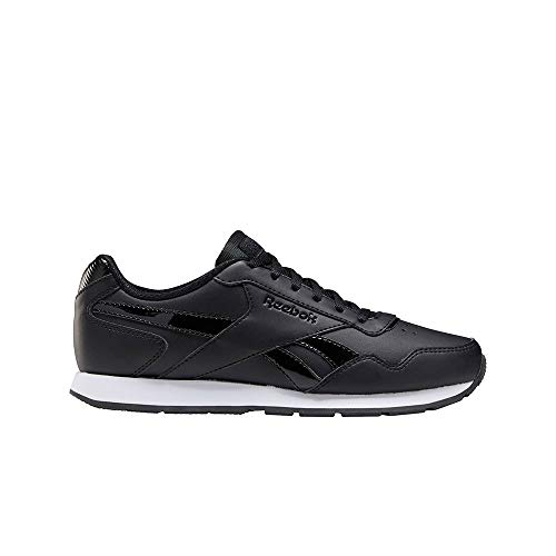 Reebok Royal Glide, Zapatillas de Running Mujer, Negro/Blanco/None, 37 EU