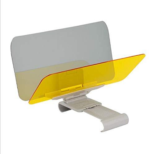BCLGCF Auto Windschutzscheibe Sonnenblende Tag Und Nacht Blendschutz - Windschutzscheibenverlängerung Mit Druckknopf, Premium Universal Sonnenschutz Und Nachtsicht Anti, Blendschutzvisier Für Auto