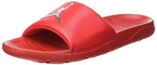 Nike Jordan Break Slide, Zapatillas Deportivas Hombre, Univ Red Mtlc Silver, 42.5 EU