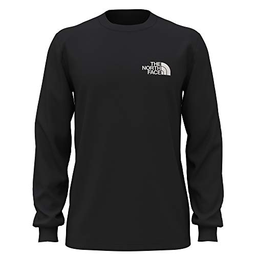 The North Face Men's L/S Box NSE Tee, TNF Black, Large