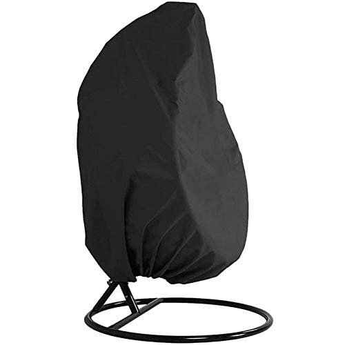 BLJS Garden Hanging Chair Cover, Hanging Chair Protective Dustproof Cover, Veranda Patio Cocoon Egg Chair Garden Furniture Protective Cover,190x115cm