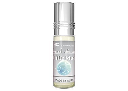 Almizcle Blanco Halal SIN ALCOHOL 6ML SUPERVENTAS Aceite Esencial Aceite de perfume - Calidad Óptima Fragancia Prime