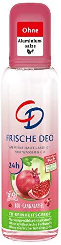 Desodorante de granada orgánica, 75 ml