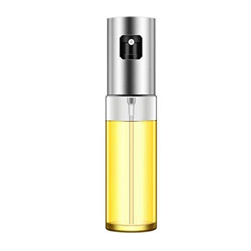 SZXCX Botella de Spray de condimento de Aceite de Cocina Olla de Aceite de Barbacoa Lata de Aceite de Vidrio Botella de Spray de Barbacoa Abs + Rociador de Vidrio