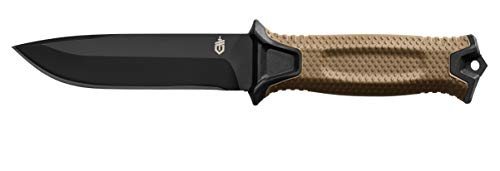 Gerber StrongArm Fixed Blade Knife with Fine Edge - Coyote Brown