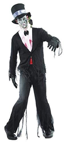 Creaciones Llopis Disfraz Adulto Novio Cadaver, Multicolor (40115