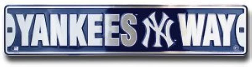 yankees street sign