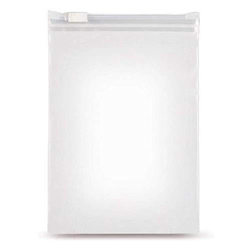 40 piezas Bolsas de plastico con cierre zip Bolsas de plástico Transparentes Bolsas con Cremallera Reutilizable Bolsa de Cierre de Autocierre bolsa sellada bolsa de almacenamiento 30*25cm