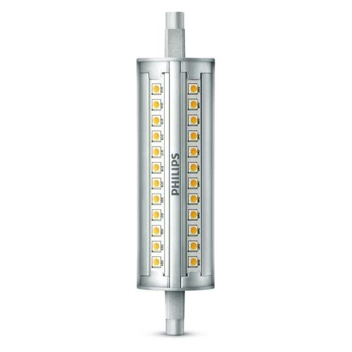 Philips Bombilla Tubo R7S 929001243701 - Tubo Lineal LED, Casquillo, Consume Equivalente, Regulable