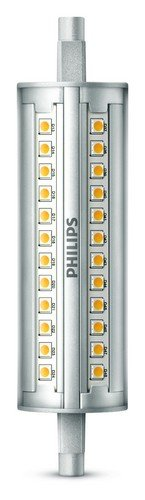 Philips Lighting Bombilla Led R7S Tubo Lineal Led, 100W, 3000K, Luz Bl