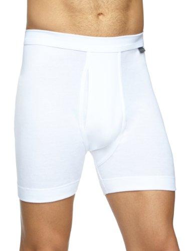 Schiesser Herren Lange Unterhose 205160-100, Gr. 7 (XL), Weiß (100-weiss)