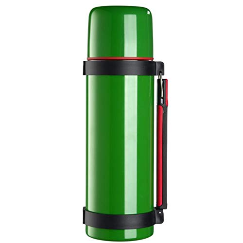 Isolation portative extérieure de bouilloire d'isolation de voiture de grande capacité de pot d'isolation de voyage de l'acier inoxydable 304 Lostgaming (Couleur : Green)
