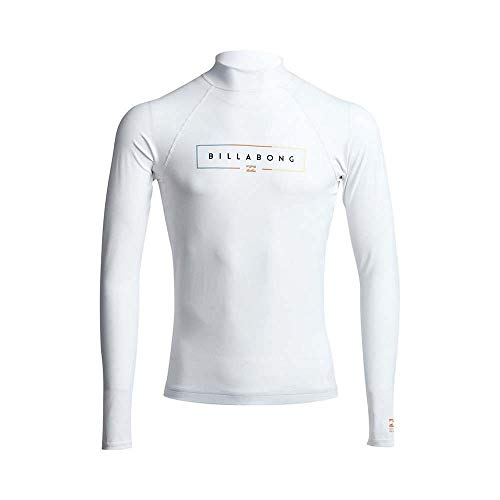 Billabong Unity Rash Vest Top met lange mouwen - Wit - Maak je performance surfset compleet met de Unity Long Sleeve