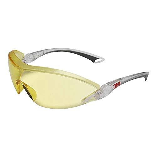 3M Schutzbrille 2842, AS/AF/UV, PC, gelb getönt