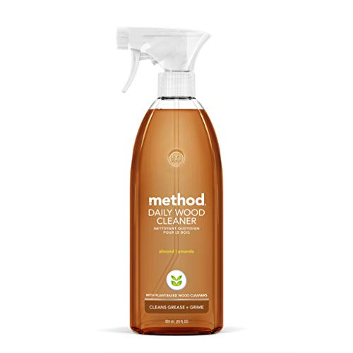 Method Daily Wood Cleaner, Almond, 28 Ounce, 1 pack, Packaging May Vary