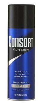 Consort For Men Hair Spray Regular Hold 8.3 oz