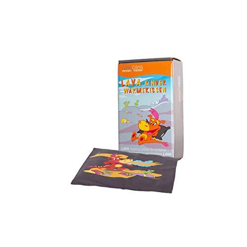 PHYSIOTHERM LAVA-Wärmekissen für Kinder • Wärmekissen für Kinder mit Lavasand • Bezug aus Baumwollstoff • Auch als Kühl-Kissen geeignet