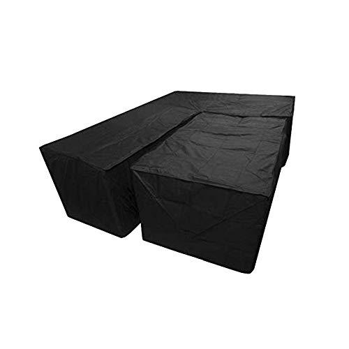 arthomer Housse de Protection Canapé d'angle Salon d'angle Respirante | imperméable | Qualité | Durable pour Meubles de Jardin Housse, Terrasse
