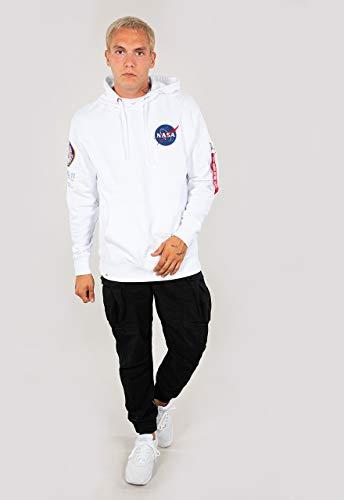 Alpha Industries Apollo 11 Hoodie Weiß L