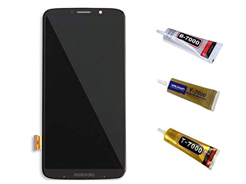 Kit Tela Display Lcd Touch Screen Motorola Moto Z3 Play Cor: Preto Modelo: Xt1929 + Cola 110ml