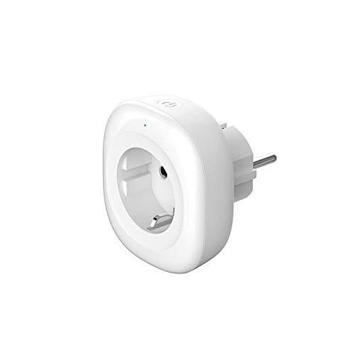 2 Piezas Mini Smart Plug, Enchufe Inteligente WiFi, Compatible Con Alexa Google Home IFTTT, Función De Temporizador, No Requiere Concentrador, Conector WiFi 10A