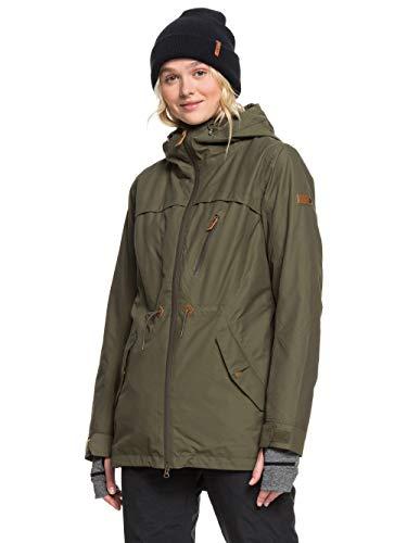 Roxy Stated - Snow Jacket for Women - Schneejacke - Frauen - XS - Braun