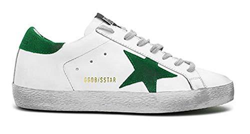 VCEGGDB Zapatillas de deporte de moda para mujer con cordones y punta redonda, estilo casual, para caminar, zapatos planos, color, talla 42 EU