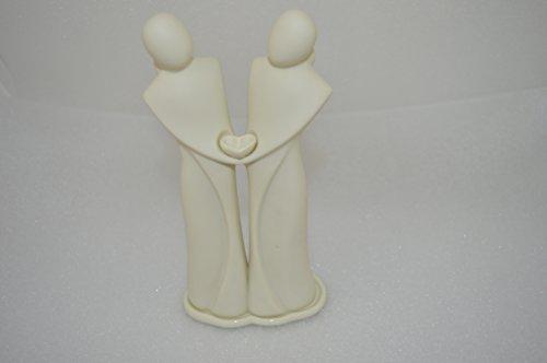 1a PartyLite Freundschaft Porzellan-Figur - - - P90573