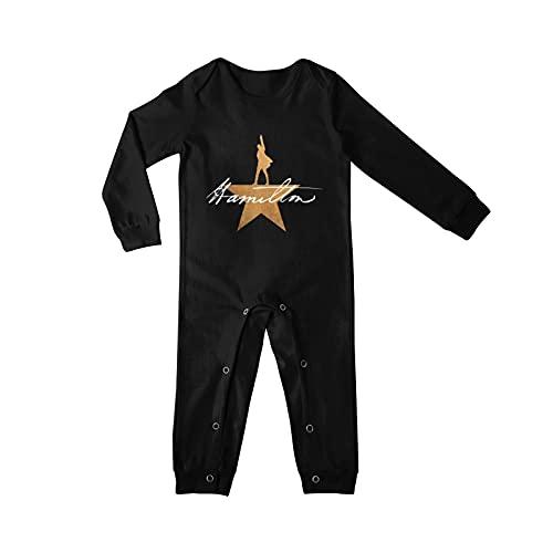 DERKOLY Harry Potter Logo Body de jersey de bebé recién nacido de algodón Body divertido de manga larga 0-24 meses