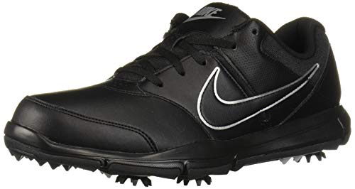 Nike Men's Durasport 4 Shoe, Black/Metallic Silver-Black, 11.5 M US