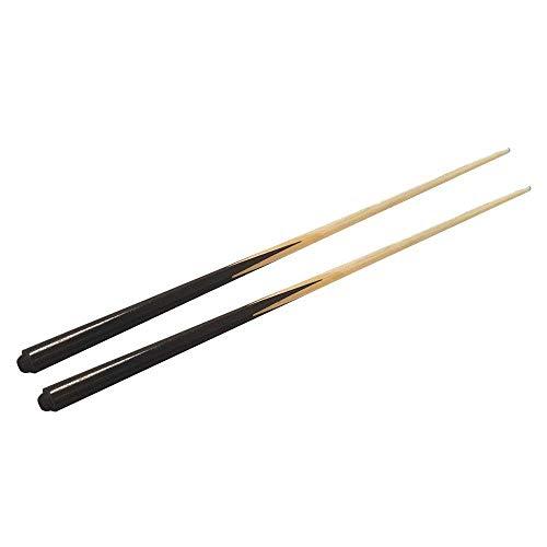1-Piece 36  Wooden Cue Sticks Pool Sticks, Pack of 2