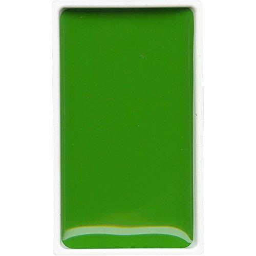 Kuretake : Gansai Tambi aquarelle Vert mai-Japonais : poêle : grand format